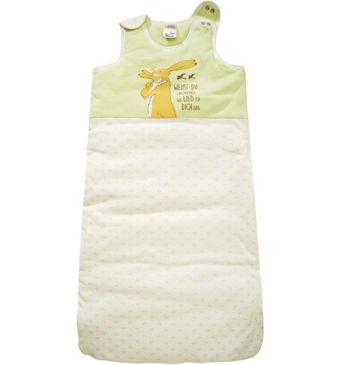 Babyschlafsack mit niedlichem Aufdruck