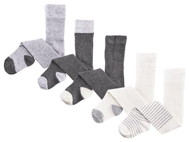 strumpfhosen in grau und weiß