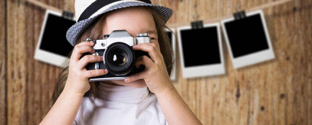 Banner: Kinderfotografie – Wie fotografiere ich mein Baby richtig?