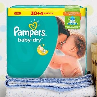 pampers babydry im probierpack