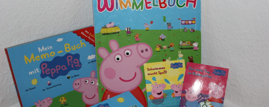 Banner: Unsere lieblings Peppa Wutz Bücher