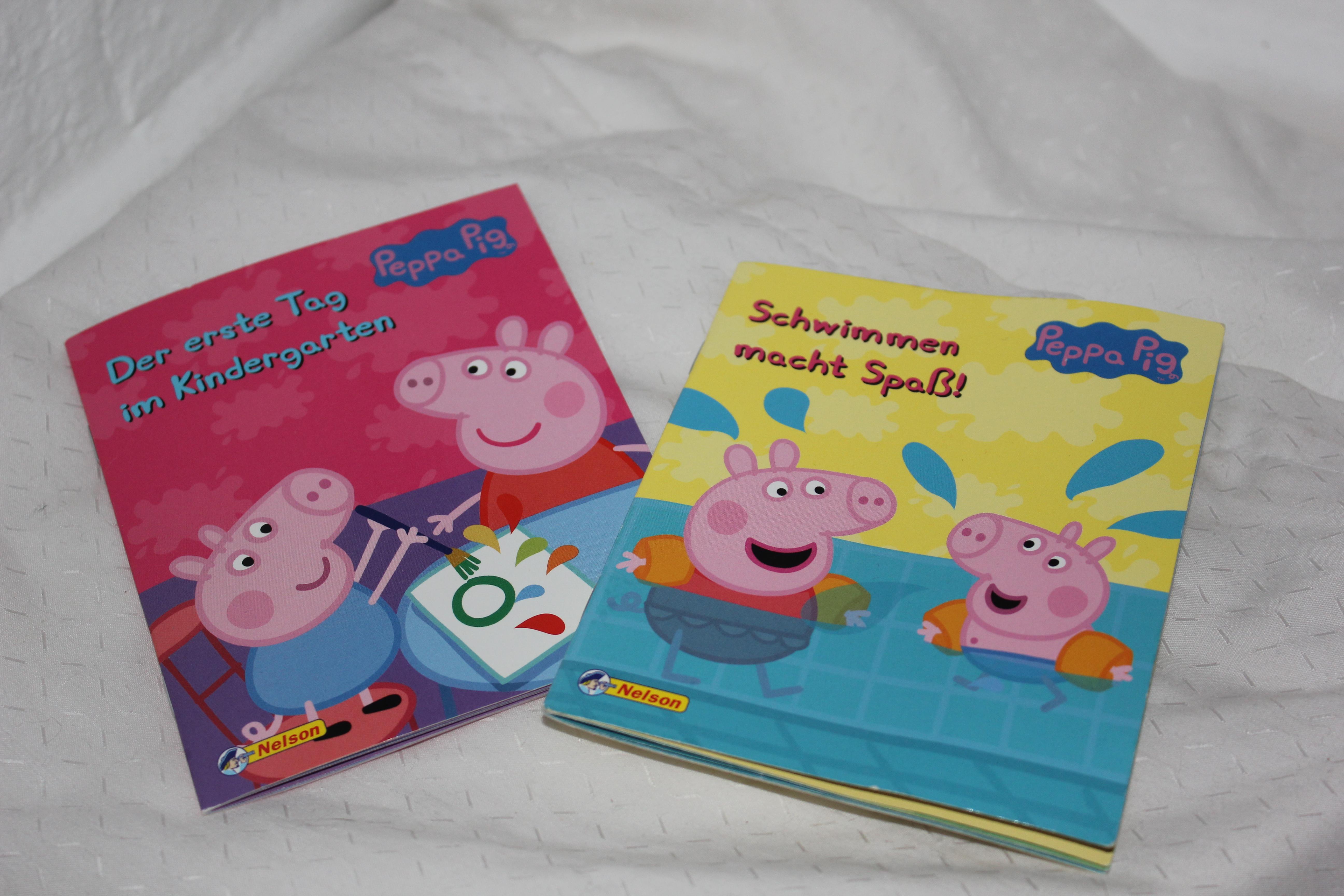 Zwei Pippa Wutz Pixibücher