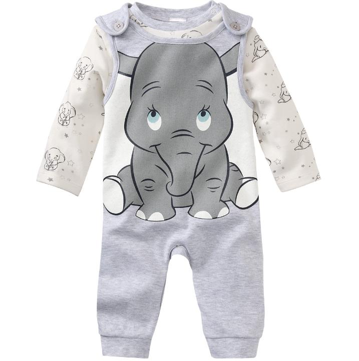 strampler und Langarmshirt mit Dumbo Aufdruck