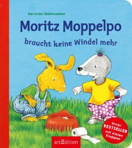 Buch Moritz Moppelpo braucht keine Windel mehr