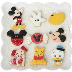 Ausstechformen Mickey Maus und Co