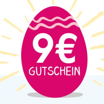 Babymarkt Osterei mit 9€ geschenkt