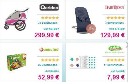Tagesdeals auf Babymarkt.de