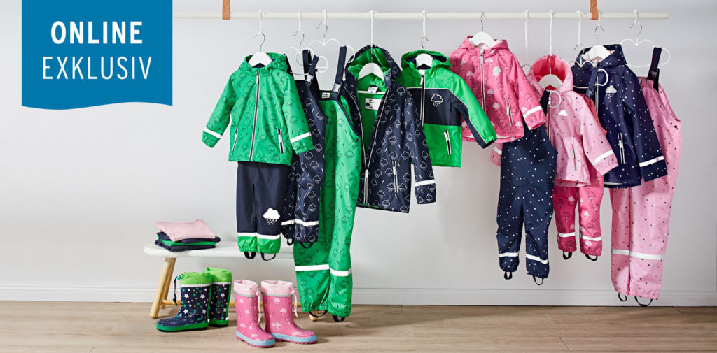 Regensachen für Kinder