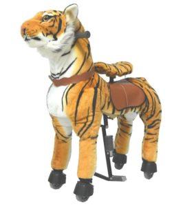 großer Tiger zum Reiten für Kinder