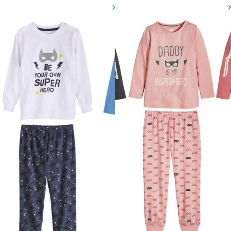 Stereotype Jungen und Mädchen Schlafanzüge von Lidl