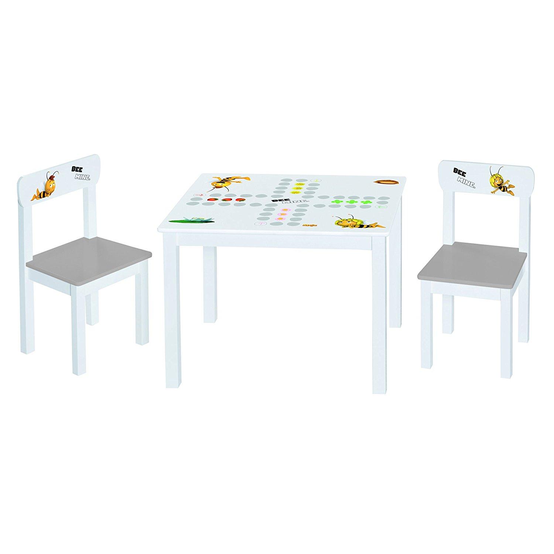 sitzgruppe bestehend aus einem tisch und zwei Stühlen