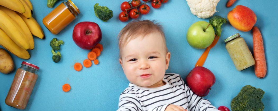 Banner: Die richtige Ernährung für dein Baby