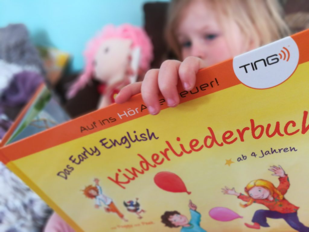 TING Buch My Early English Kinderliederbuch