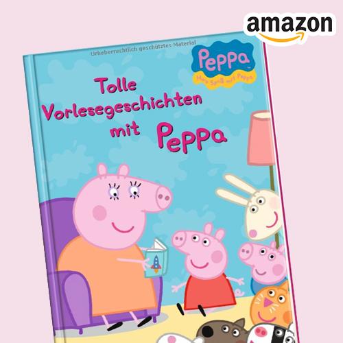 Vorlesegesichten mit Peppa Wutz