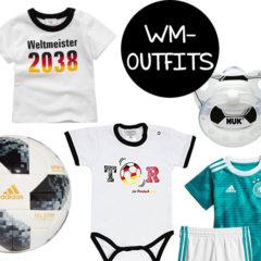 WM 2018 Outfits für Babys und Kleinkinder