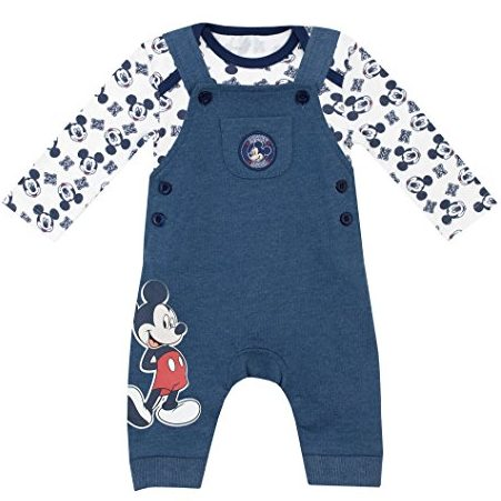 Mickey Maus Overall Set mit Body