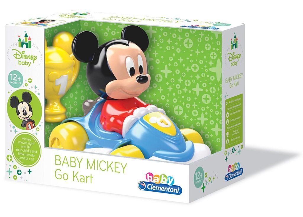Mickey Maus im Gokart für Babys