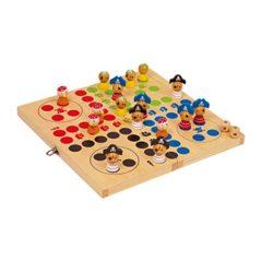 Ludo Piratenspiel aus Holz