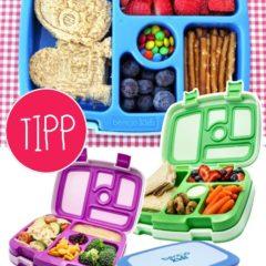 Lunchboxen in verschiedenen Farben
