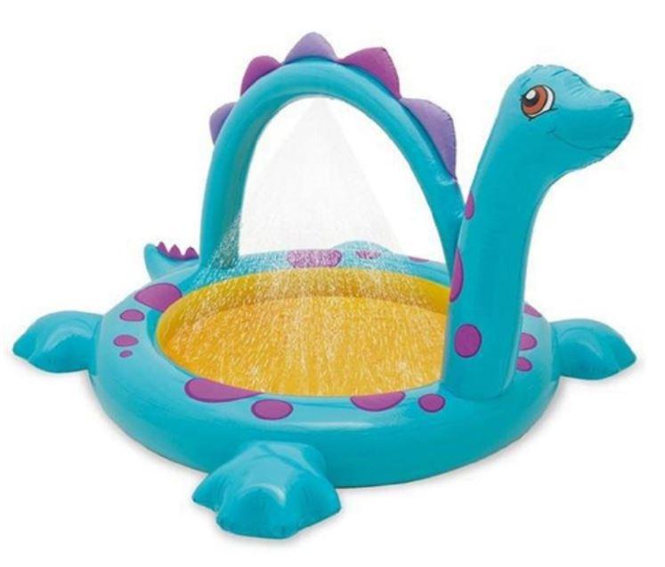 Dino Pool mit Regendusche