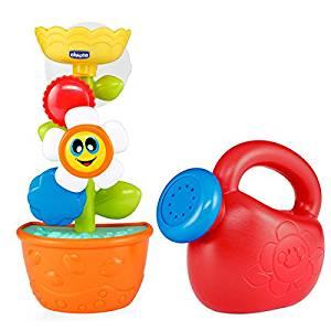 Spielzeugblume mit Gieskanne