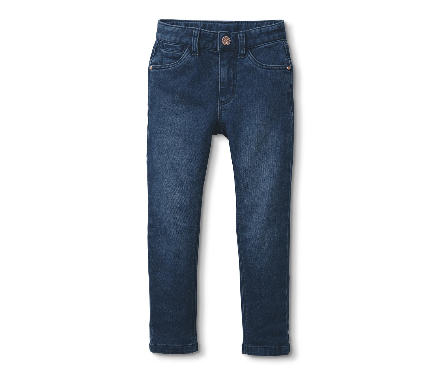 Denim Hose in dunkel Blau
