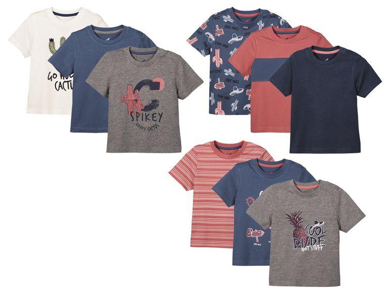 3er Set Jungs Shirts bei Lidl