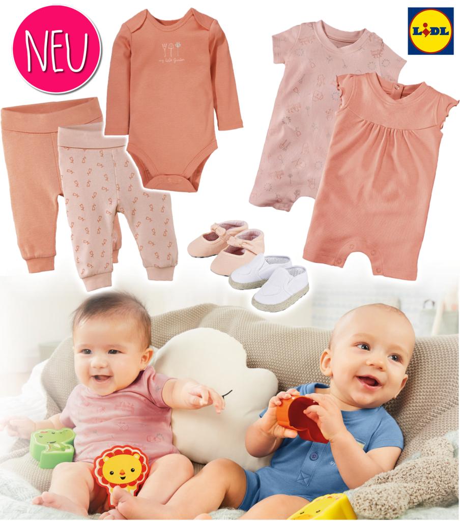 Mädchenkleidung in der neuen LUPILU Kollektion