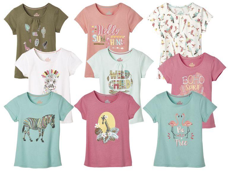 3er T-Shirts Set für Mädchen