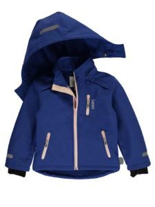 Softshelljacke in blau