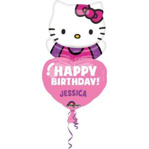 Hello Kitty Folienballon zum Personalisieren