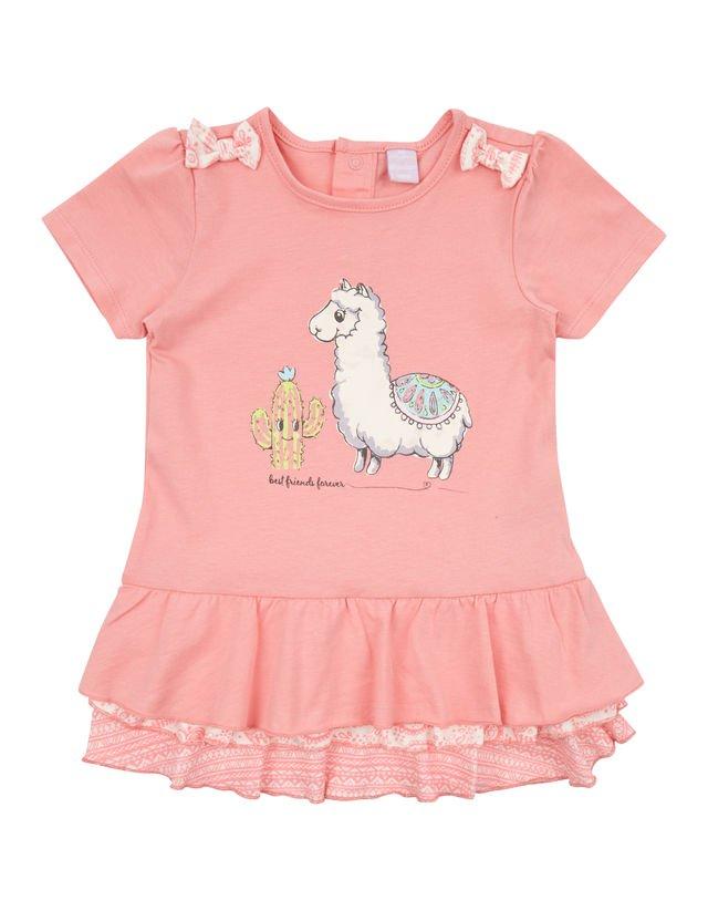 Alpaka Mädchen Shirt