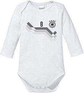 Baby Body mit Wunschname und Wunschzahl