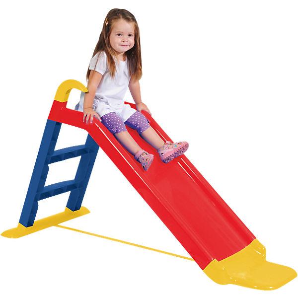 Rutsche für Kleinkinder in rot blau