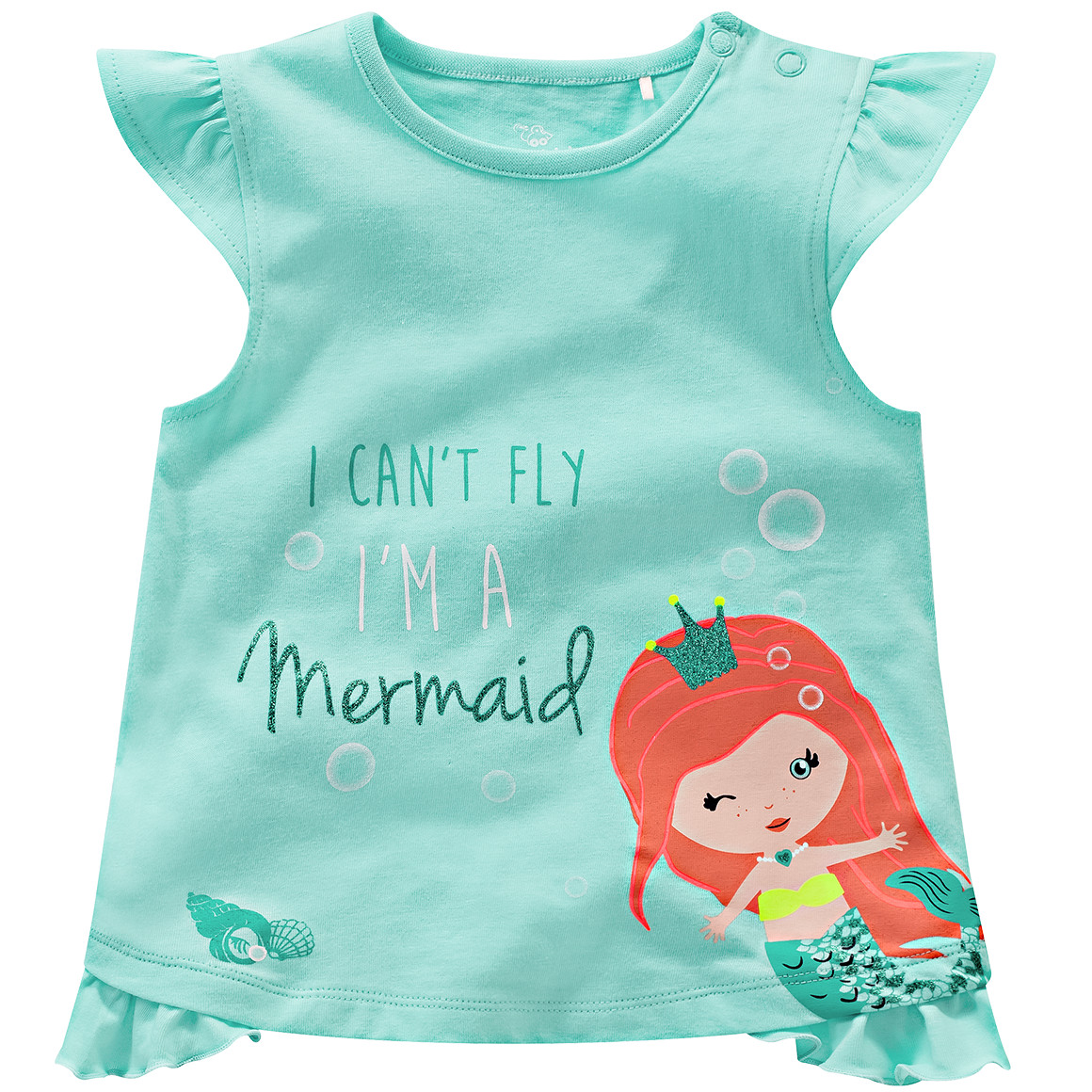 türkises Tshirt mit Meerjungsfrau