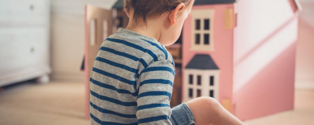Banner: Mein Kind, die Räuberprinzessin – Geschlechtertrennung bei Kindern