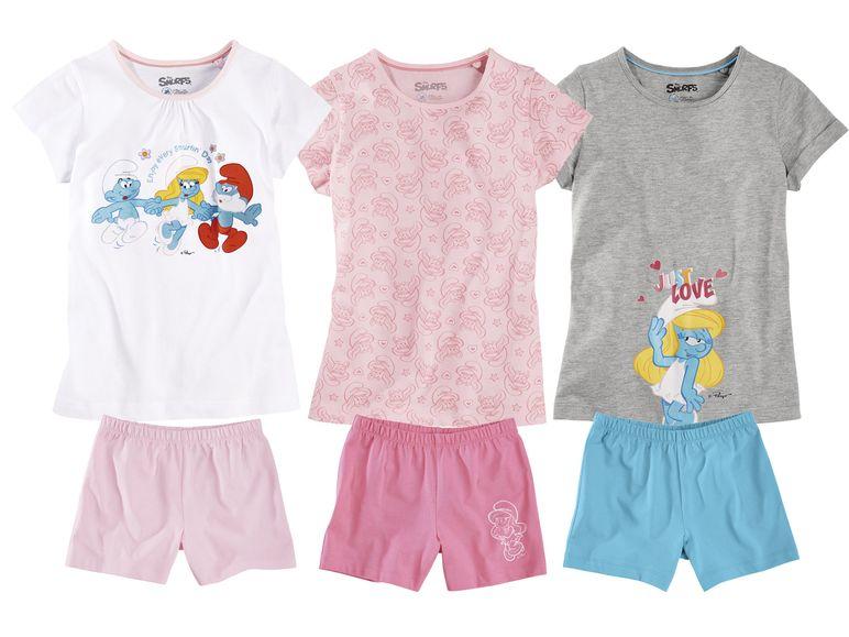 verschiedene kurzärmlige Schlafanzugsets für Mädchen