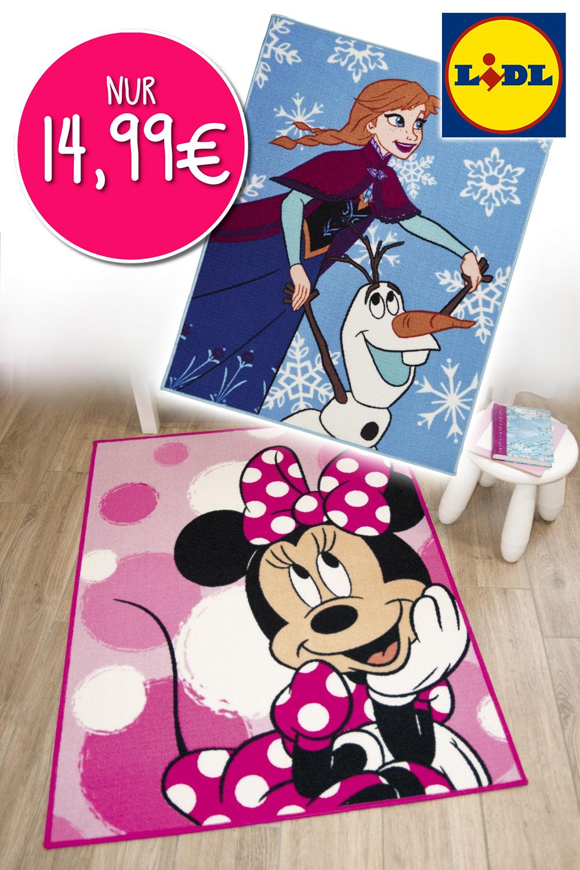Elsa und Minnie Teppiche