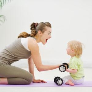 Mutter-Kind-Turnen