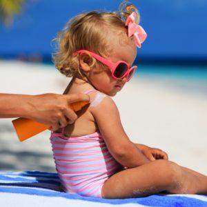 Sonnenschutz für Kinder - Sonnencreme Test und mehr