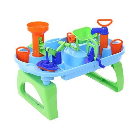 Wasserspieltisch in grün