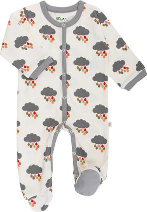 strampler mit Regenwolken