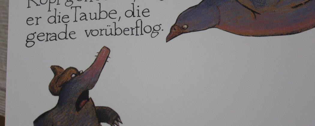 Banner: Vom kleinen Maulwurf, der wissen wollte, wer ihm auf den Kopf gemacht hat