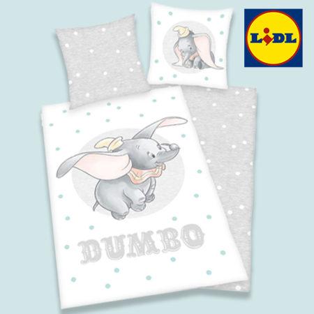 LIDL Dumbo Bettwäsche