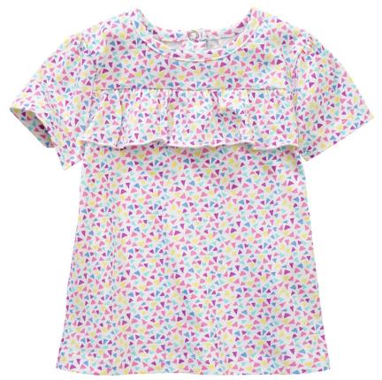 buntes T-shirt Mädchen