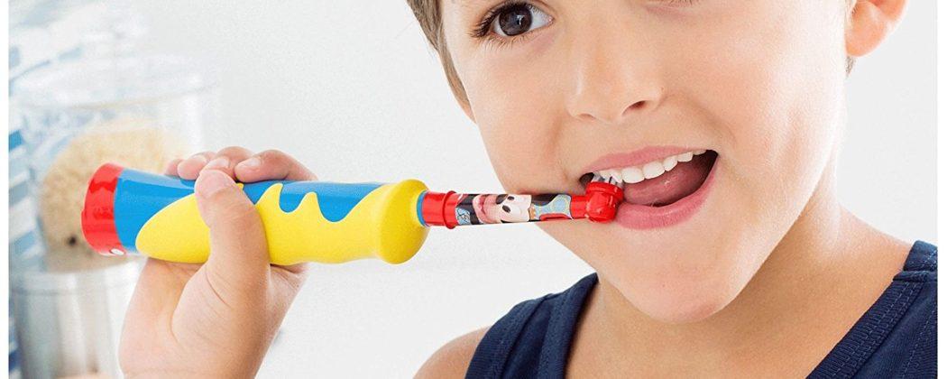 Banner: Test: Kinderzahnbürste Braun Stages Kids mit Timer