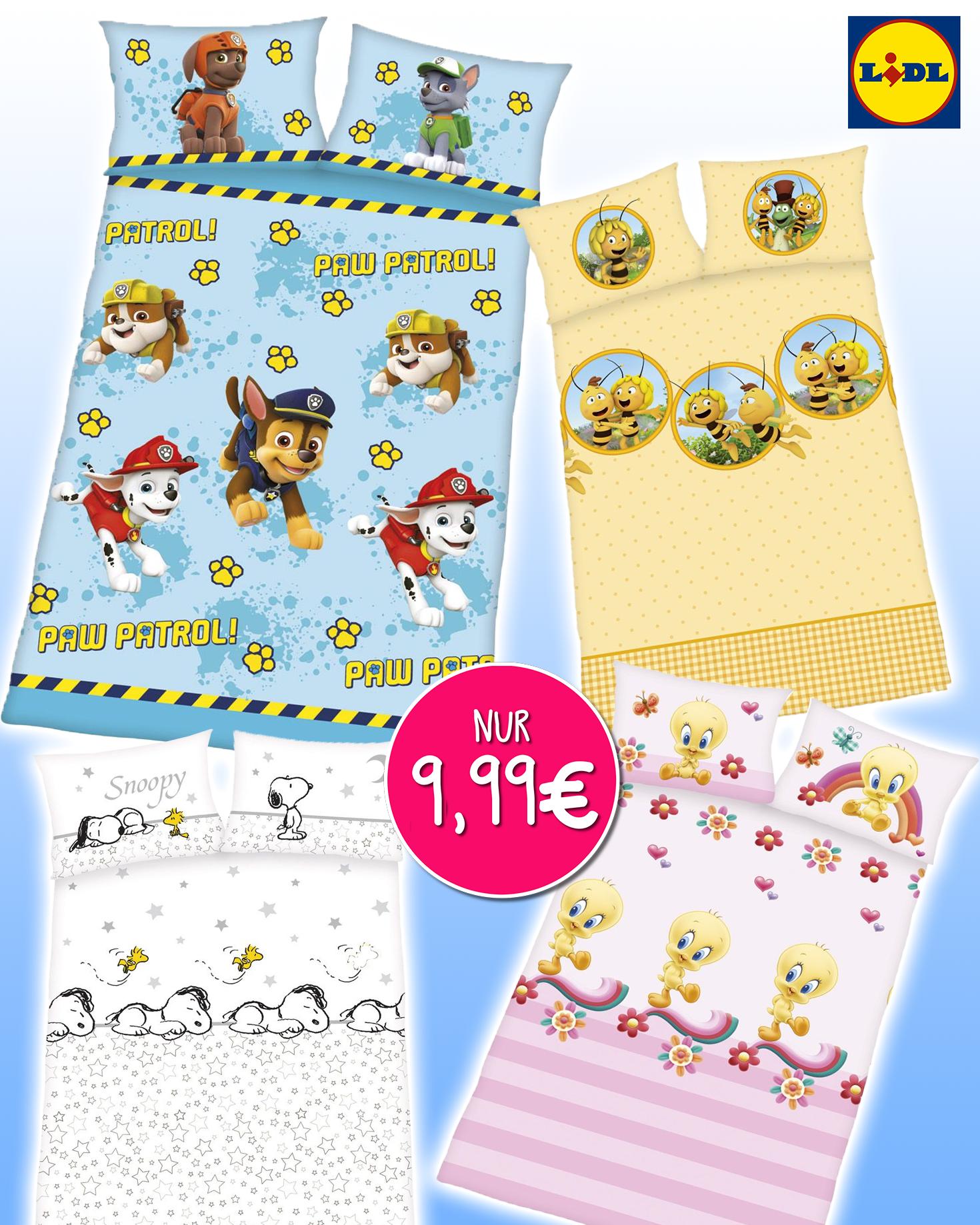 Kinderbettwäsche Jetzt Im Sale Bei Lidl Meinbaby123de
