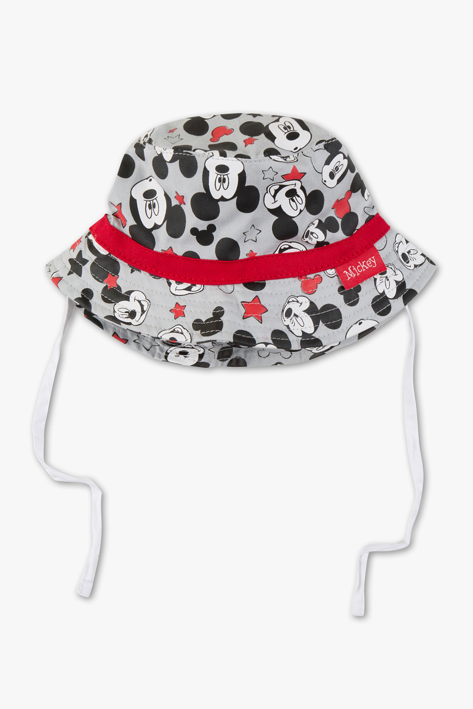 mütze in grau mit micky maus