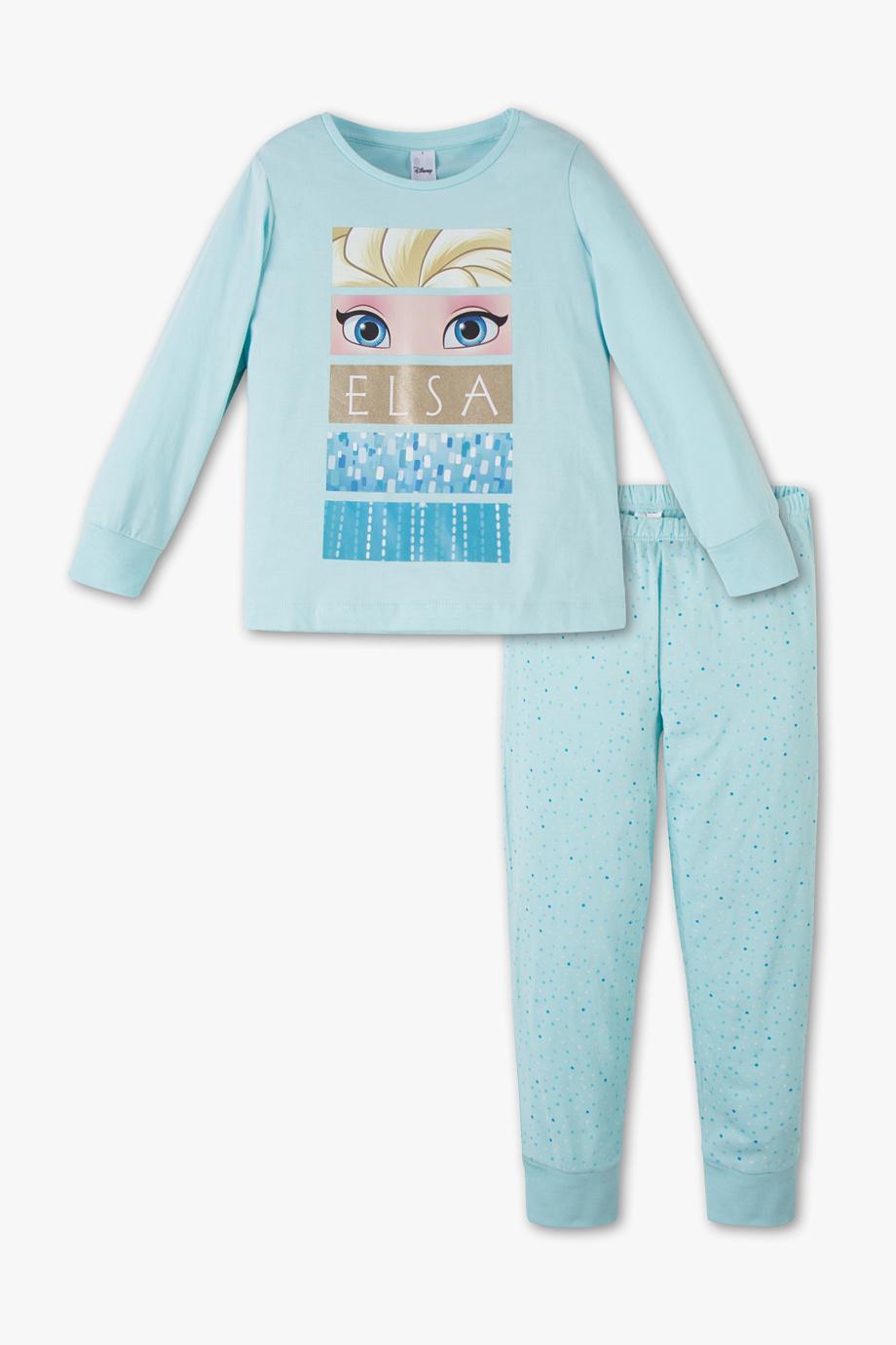 schlafanzug in blau