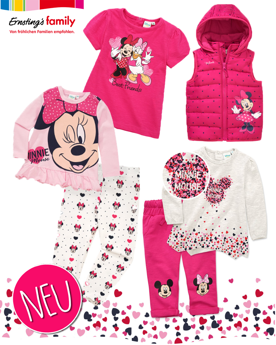 Mickey Mouse Babymode von Ernsting's Family